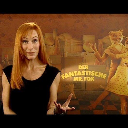 Andrea Sawatzki über die stimmliche Anlage ihrer Rolle Mrs Fox - Interview