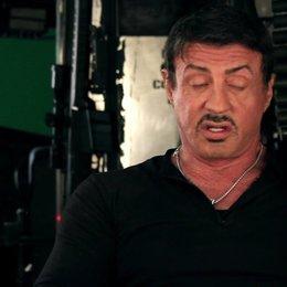 Sylvester Stallone -Barney Ross- über die Kult-Besetzung - OV-Interview Poster