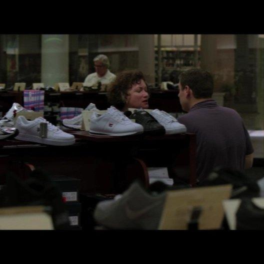 Begegnung im Einkaufszentrum - Szene