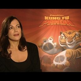 "Interview mit Bettina Zimmermann (Synchronstimme ""Tigress"") Poster"