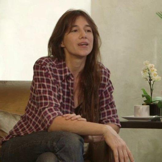 Charlotte Gainsbourg - Alice - über die Zusammenarbeit mit zwei Regisseuren - OV-Interview
