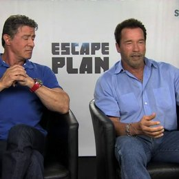 Stallone und Schwarzenegger über das Besondere des Films - OV-Interview
