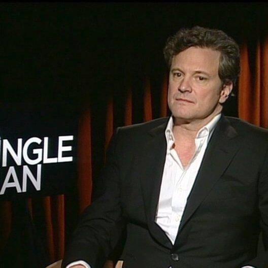Colin Firth / GEORGE / über den Regisseur Tom Ford - OV-Interview Poster