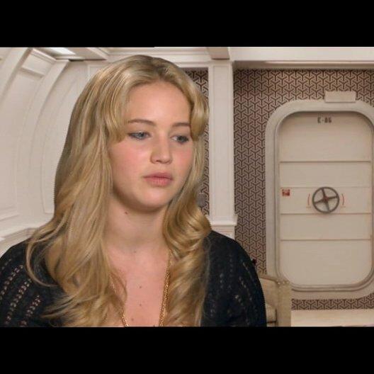 Jennifer Lawrence über die Bedeutung, ein Mutant zu sein - OV-Interview