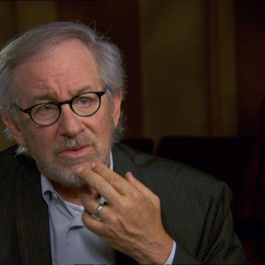 Steven Spielberg (Regisseur-Produzent) über das Drehen in Richmond - OV-Interview