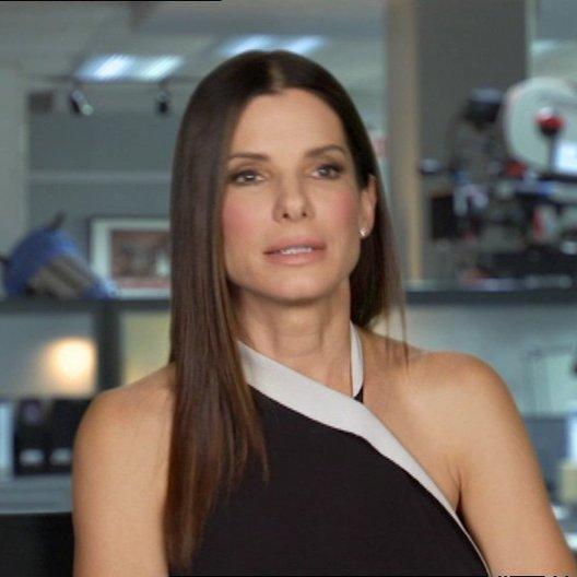 Sandra Bullock -Ashburn - über den Comedyaspekt im Film - OV-Interview