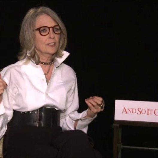 Diane Keaton - Leah - über zweite Chancen und Möglichkeiten im Leben - OV-Interview Poster