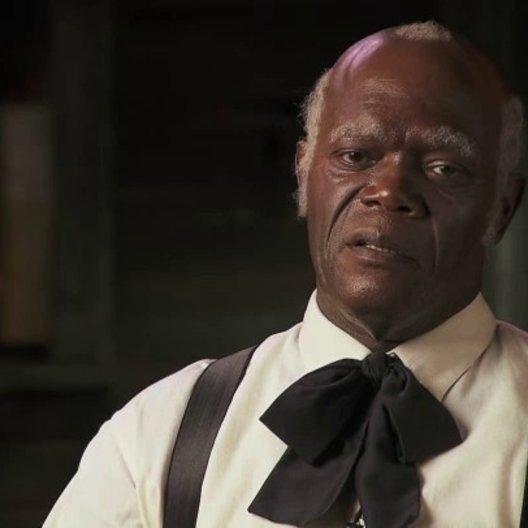 Samuel Jackson über Stephens Beziehung zu Calvin - OV-Interview