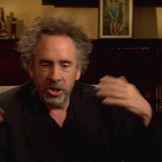Tim Burton - Regisseur - darüber was die Zuschauer aus dem Film mitnehmen - OV-Interview
