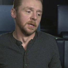 Simon Pegg - Jack - über seine Rolle - OV-Interview