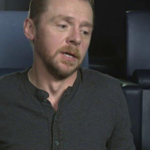 Simon Pegg - Jack - über seine Rolle - OV-Interview Poster