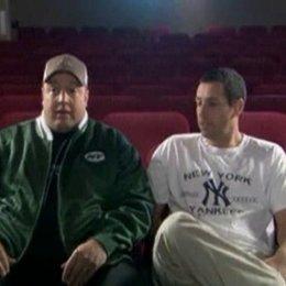 Adam Sandler (Chuck Levine) und Kevin James (Larry Valentine) über den Plan mit einer gefälschten schwulen Ehe Kinder abzusichern, warum Jessica Biel  Poster