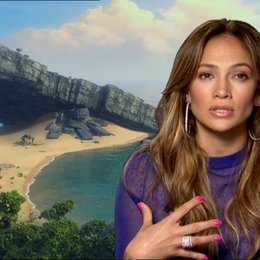 Jennifer Lopez über die Schwierigkeiten in einem Studio zu arbeiten - OV-Interview Poster