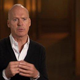 Michael Keaton -  Riggan Thomson -  über den emotionalen Rahmen von Riggan - OV-Interview