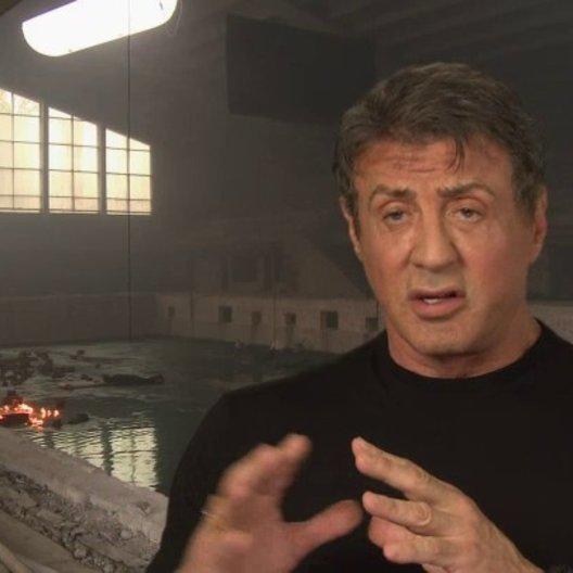 Sylvester Stallone - Barney Ross - über die neuen Expendables - OV-Interview Poster