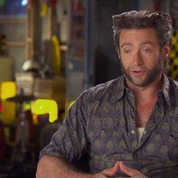 Hugh Jackman - Wolverine - über sein Trainingsprogramm - OV-Interview Poster