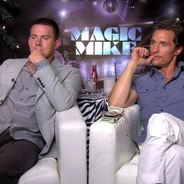Channing Tatum und Matthew Mc Conaughey Teil 2 - OV-Interview