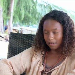 Divana Weber - Joe - wie sie sich über die Rolle freut - Interview Poster