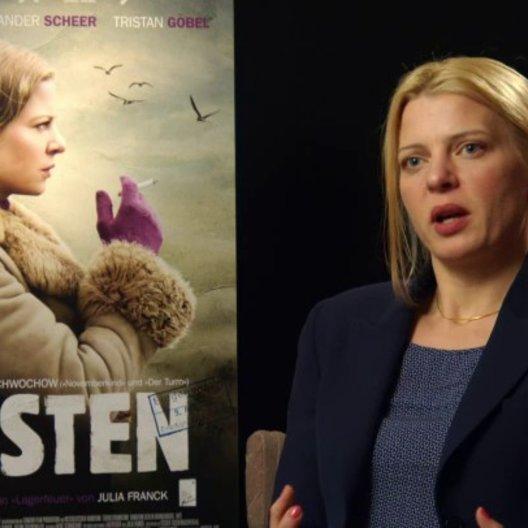 Jördis Triebel - Nelly Senff - über die Schwierigkeiten ihrer Rolle - Interview