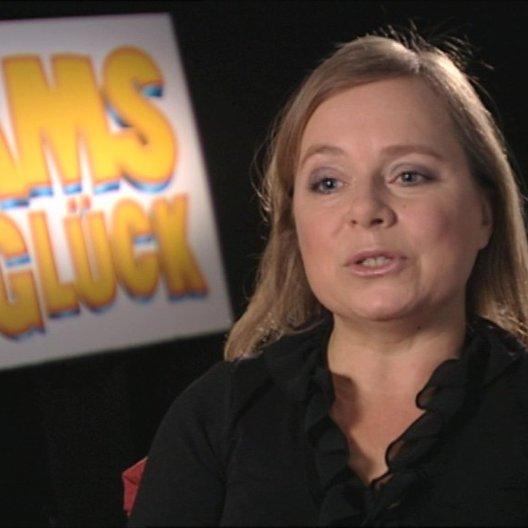 Christine Urspruch über Glück - Interview Poster