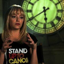 Emma Stone über Andrew Garfield - OV-Interview