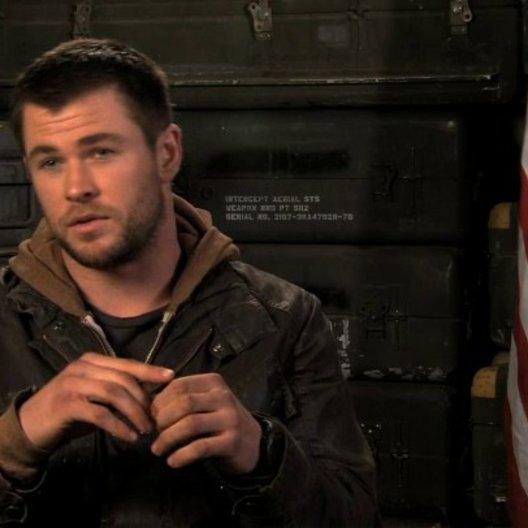 Chris Hemsworth über den Reiz des Projekts - OV-Interview