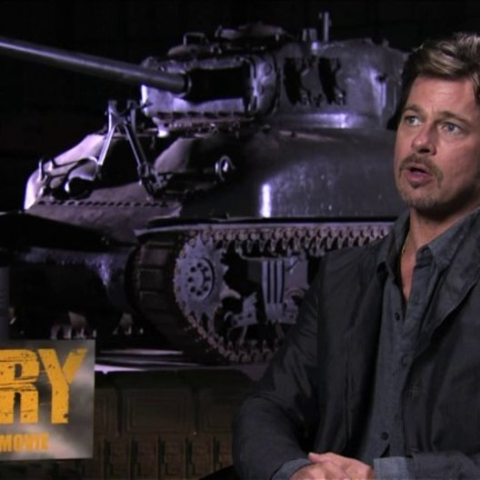 Brad Pitt über Vorbereitungen auf den Film - OV-Interview Poster