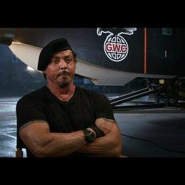 Sylvester Stallone über die Story und seine Rolle - OV-Interview Poster