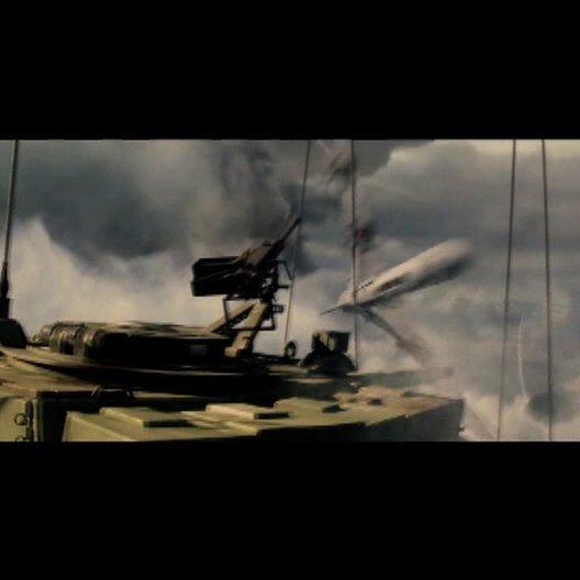 """""""Wieso sind wir in einem abstürzenden Panzer?"""" - Szene Poster"""