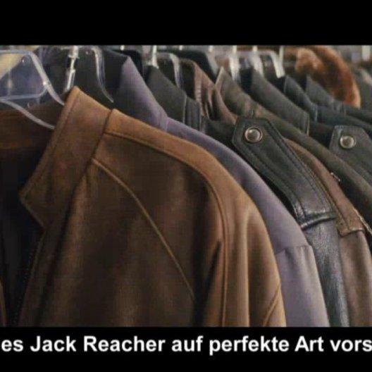 Jack Reacher - Lee Child - Featurette Poster