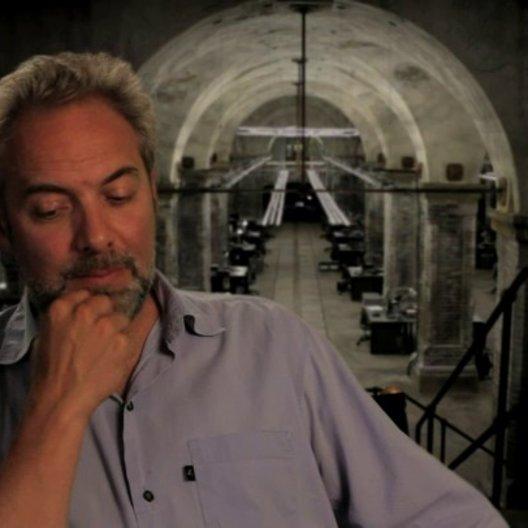 Sam Mendes darüber dass alles real gedreht wurde - OV-Interview Poster