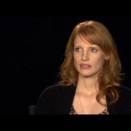 JESSICA CHASTAIN (Mrs OBrien) das Schauspielern im Film - OV-Interview