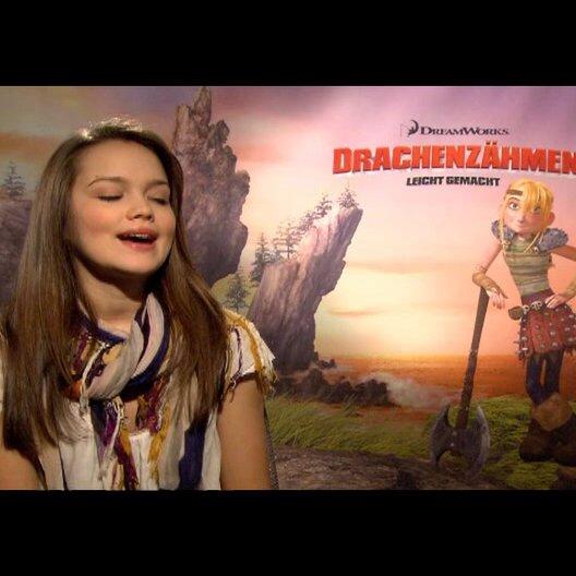 """EMILIA SCHÜLE - """"Astrid"""" (deutsche Stimme) über 3D - Interview"""
