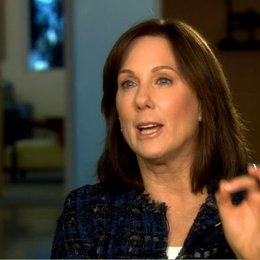 Kathleen Kennedy (Produzentin) über die Dreharbeiten mit Pferden - OV-Interview