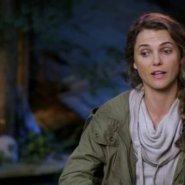 Keri Russell - Ellie - über die Geschichte des Films - OV-Interview