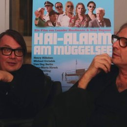 Leander Haußmann und Sven Regener (Regie) über Komunalpolitik - Interview Poster