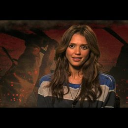 Jessica Alba über Robert Rodriguez Fans - OV-Interview