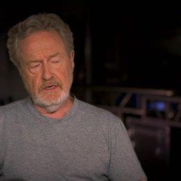 Ridley Scott über die zwei Protagonisten des Films - OV-Interview