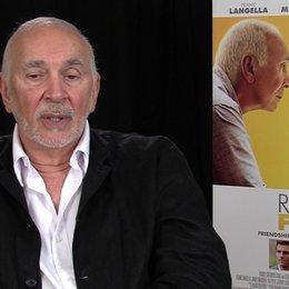 Frank Langella - Frank - darüber was das Publikum aus dem Film mitnehmen soll - OV-Interview Poster