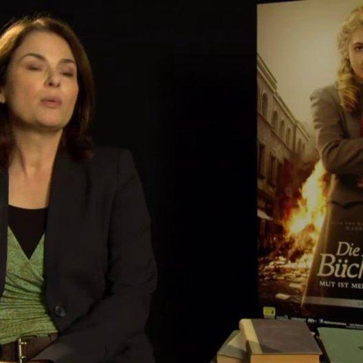 Barbara Auer - Ilsa Hermann - über Ilsas Beziehung zu Liesel - Interview Poster