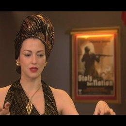July Dreyfus über Tarantinos Fantasie - OV-Interview