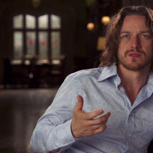 James McAvoy - Charles Xavier - über die Anziehungskraft der X-Men - OV-Interview