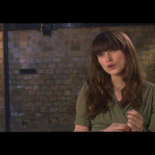 Keira Knightley über ihre Rolle - OV-Interview