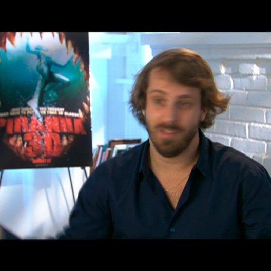 Alex Aja (Regisseur), wie er zu diesem Film gekommen ist - OV-Interview