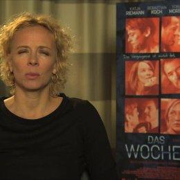 Katja Riemann über Inga und Gregor - Interview Poster