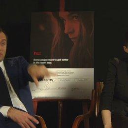 Rooney Mara - Emily Taylor und Jude Law - Dr Jonathan Banks - über die Zusammenarbeit mit Steven Soderbergh - OV-Interview Poster