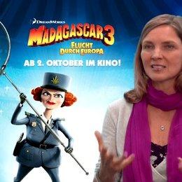 Susanne Pätzold - Chantal DuBois - was ihr an MADAGASCAR 3 so gefällt - Interview Poster