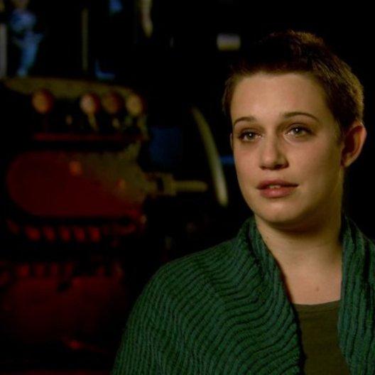Daniella Kertesz - Segen - über Brad Pitts Rolle Gerry Lane - OV-Interview