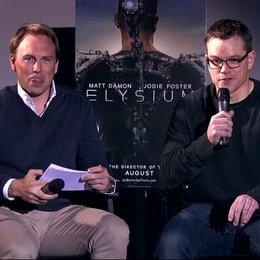 Trailerpräsentation mit Matt Damon in Berlin - Sonstiges