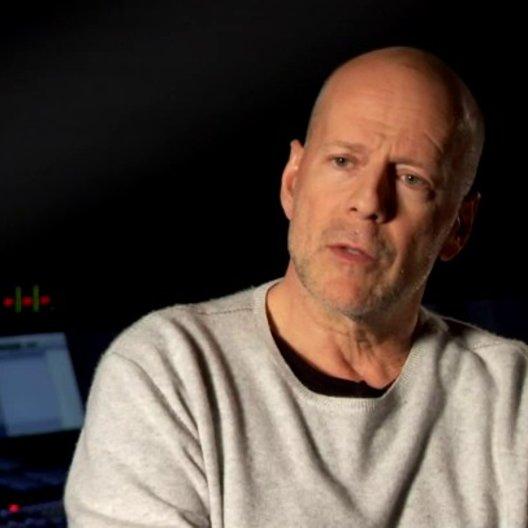Bruce Willis - Joe - älter - über Looper - OV-Interview Poster
